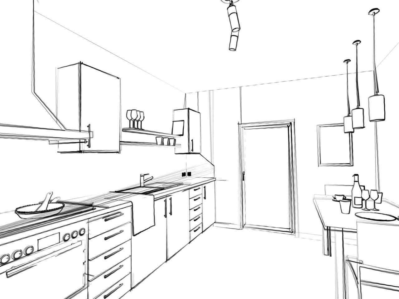 die schreinerk che individuell sch n und langlebig schreinerei binzler gmbh. Black Bedroom Furniture Sets. Home Design Ideas